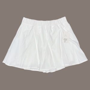 Year of Ours NWT White Tennis Skort - L